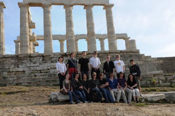 Griechenland-Fahrt des stadtweiten Altgriechisch-Kurses in Münster 2011