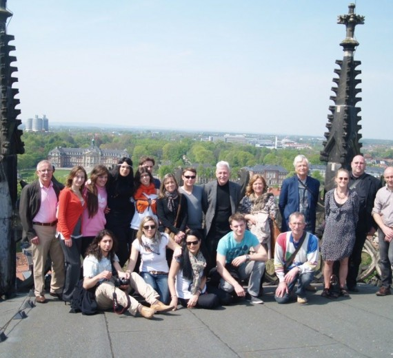 Kalkriese – Unser gemeinsames Erbe: Besuch des Abendgymnasiums Münster im Kontext eines europäischen Grundtvig-Projektes am 1.5.2012