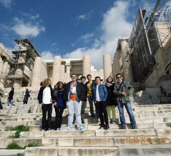 Schillergymnasium Münster in Athen 17.3.‐22.3.2013