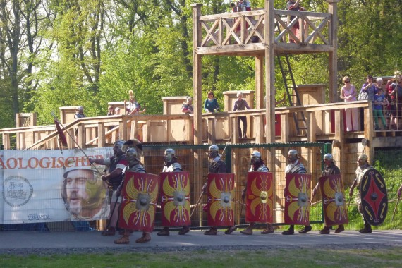 Frühjahrsfahrt 2013 zum Römerlager Oberaden