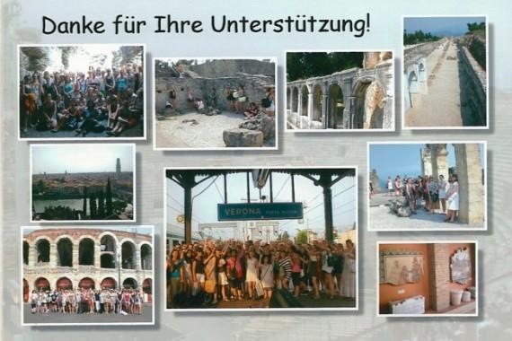 Reisebericht Verona (30.06. – 04.07.2010) der Marienschule Münster