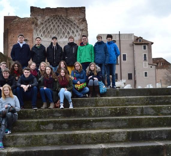 Lateiner des Schillergymnasiums wieder in Rom (28.02.-05.03.2014)