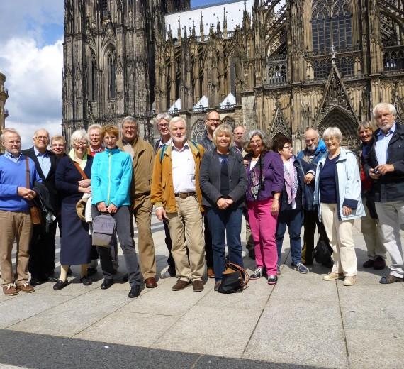 """""""Unterirdisches Köln"""" – Fahrt des Vereins am 23.08.2014"""