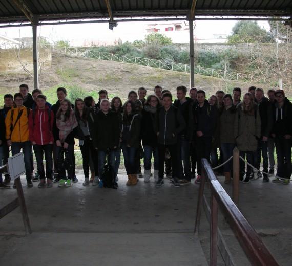 Romfahrt des Schillergymnasiums (12.-17.02.2015)