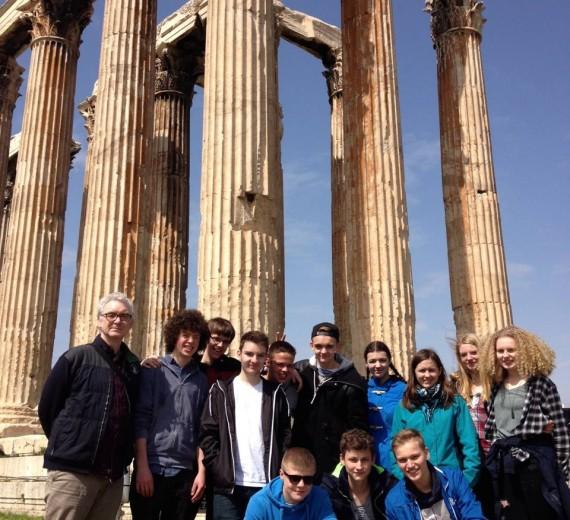 Griechenlandfahrt des Schillergymnasiums (22.-29.03.2015)