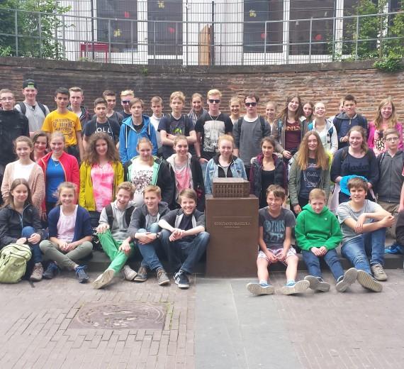 Trier-Fahrt der Europaschule Gymnasium Wolbeck Münster 02.-06.06.2015